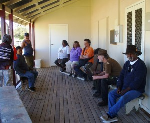 Artists discuss painting camps