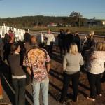 Cherbourg State School staff visit