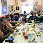 Large group of local artists