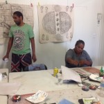 Artists with rubbings