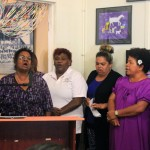 Church ladies sing