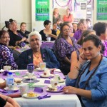 Lovely women gather to celebrate International Women's Day