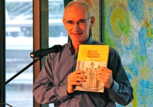 Tom Blake helps to promote the book