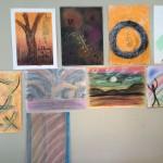 Pastel works