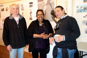 Designer - Peter Trail, Curator - Mark Newman, Researcher & producer - Sandra Morgan