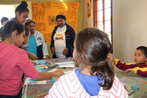 Budburra Books Art workshop