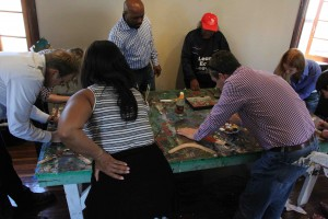 Art workshop with local artists