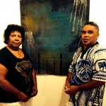Aunty Lillian Burke and Rocko Langton