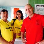 3 volunteers Mark Matty