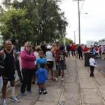 Nice crowds finish line