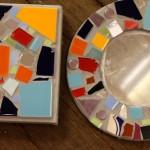 Tile & mirror