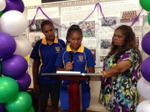 Students from Murgon State High School