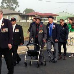 March to BOYS from Barambah memorial
