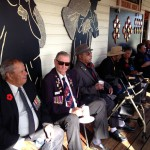 Morning tea with veterans