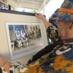 Ruth Hegarty with donated photograph