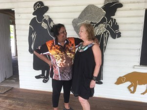 Aunty Sandra meets Annie Richards again