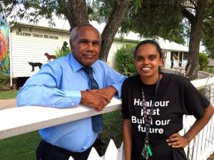 Mayor Arnie Murray and HIPPY Tutor