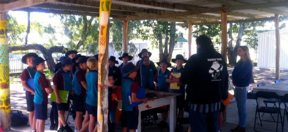 A workshop under bower shed