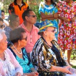 Aunty Ruth Hegarty with Elders